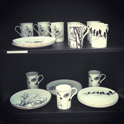 bone china silhouette